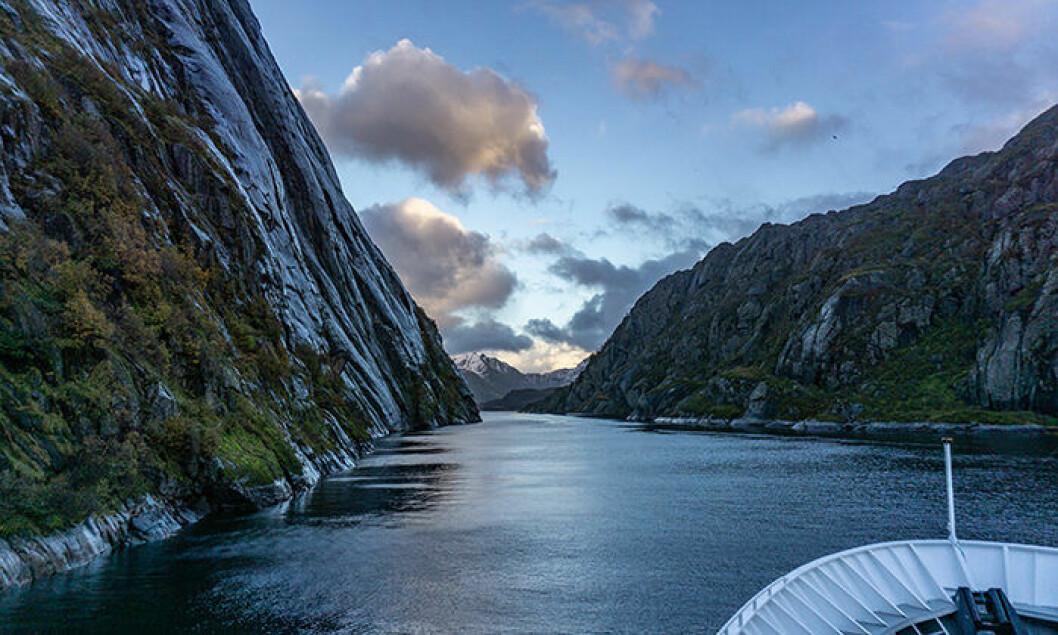 Hurtigruten är en populär kryssningstur i Norge