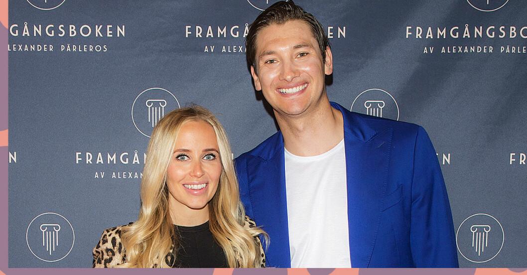 Ida Warg och Alexander Pärleros väntar sitt andra barn!