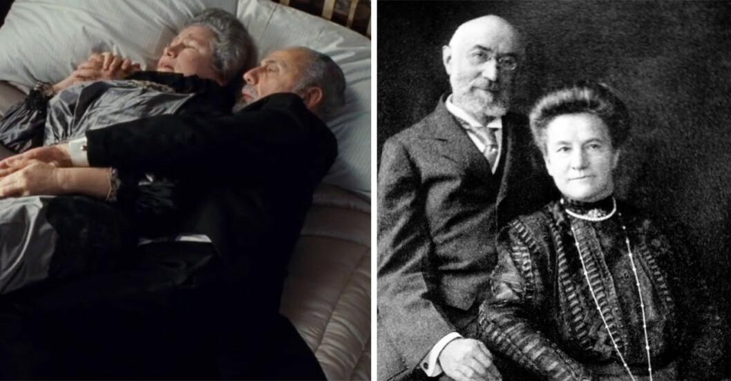 Ida & Isidor Straus i Titanic