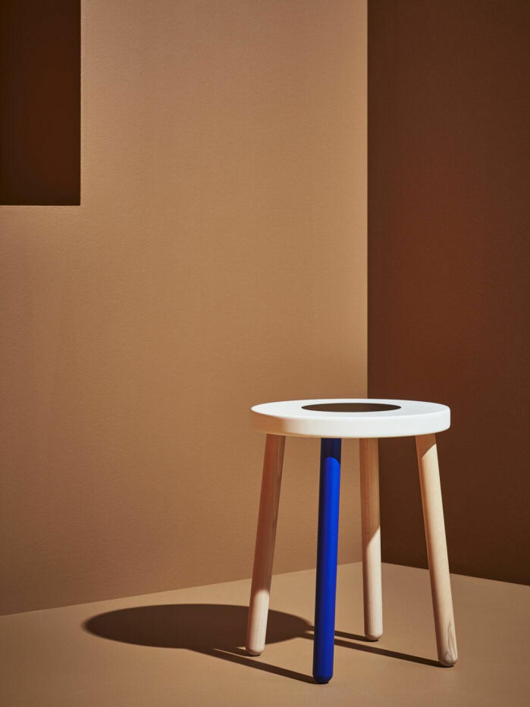Pall i design av Colettes Sarah Andelman och konstnären Craig Redman