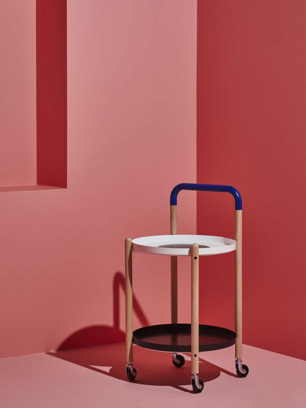 Rullbord från Ikeas designsamarbete Förnyad