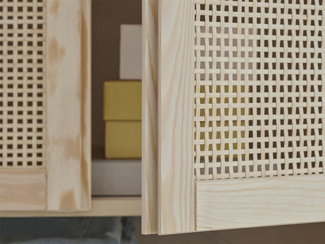 Bambudörrar till Ivar från Ikea
