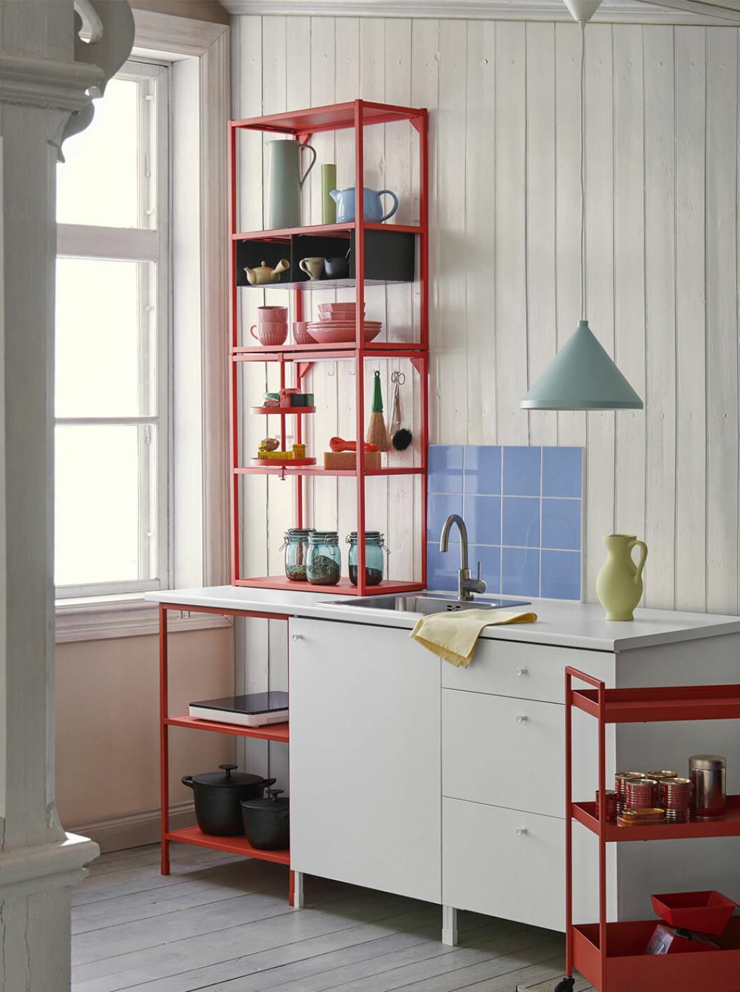 Enhet modulsystem för kök från Ikea