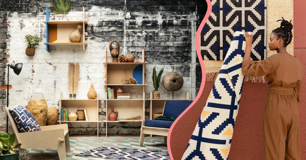 Ikea Överallt – deisgnsamarbete med limiterad kollektion