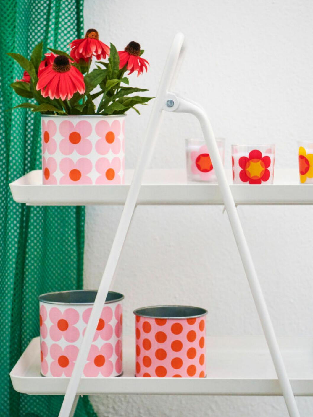 Ikea sommar 2019 retro blomkruka