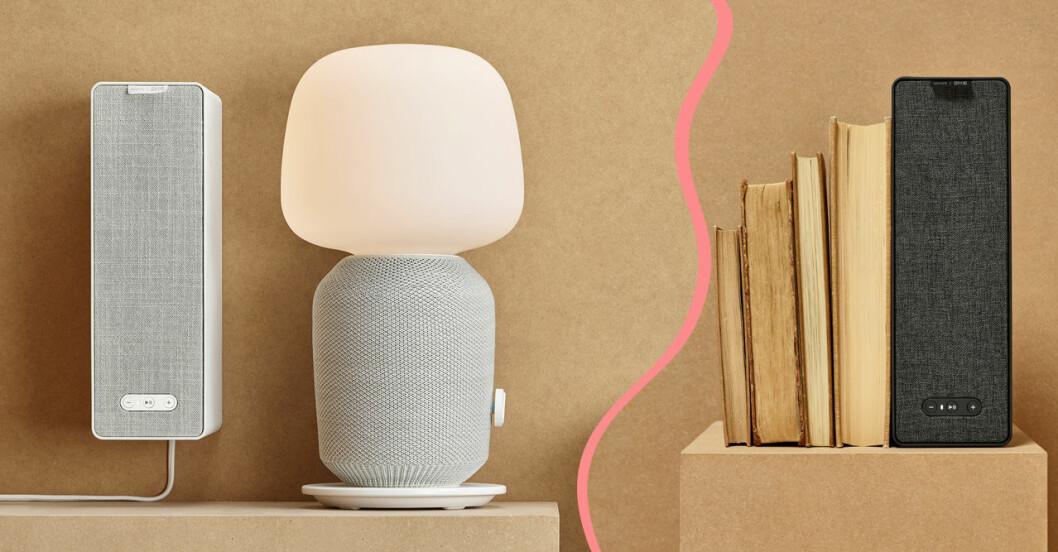 Ikea och Sonos släpper designsamarbete med högtalare i inredning