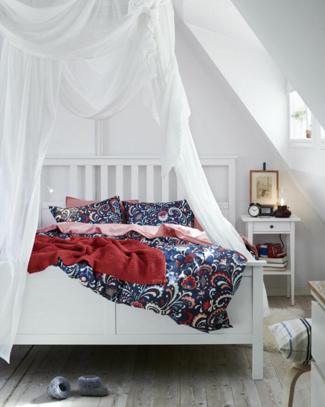Julen hos Ikea – här i sovrummet