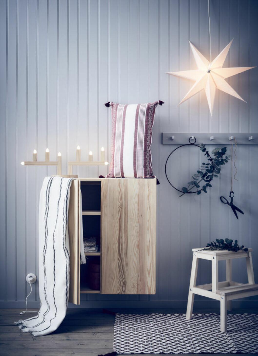 Julbelysning från Ikeas nya julkollektion 2019