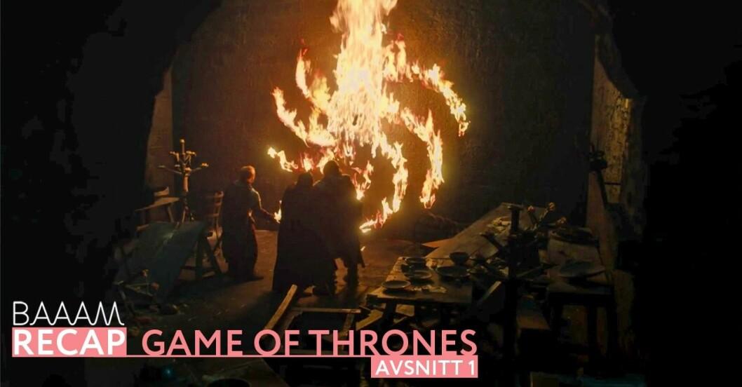 Baaam recap: Game of Thrones säsong 8 avsnitt 1