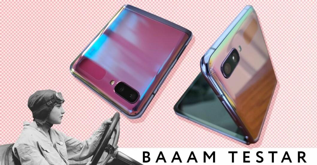 Baaam testar: Samsung Galaxy Z Flip
