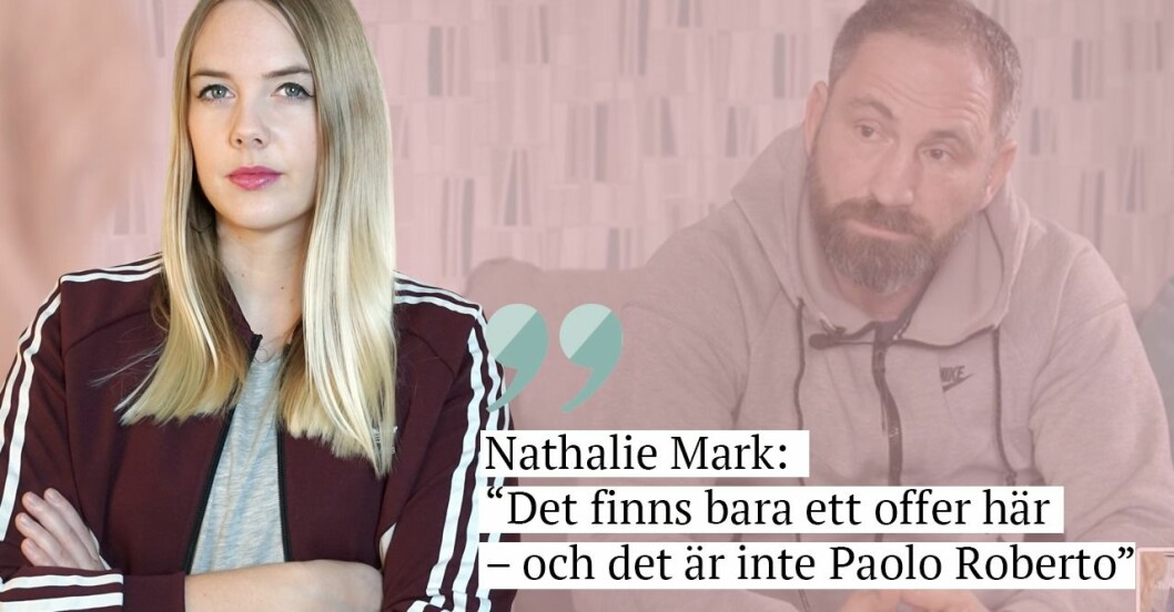 Nathalie Mark skriver om Paolo Robertos sexköp på Baaam.