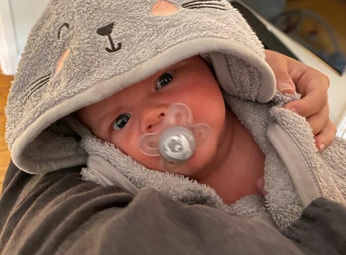 Hanna Persson kommer skriva om sin son Nisse i bloggen på Baaam