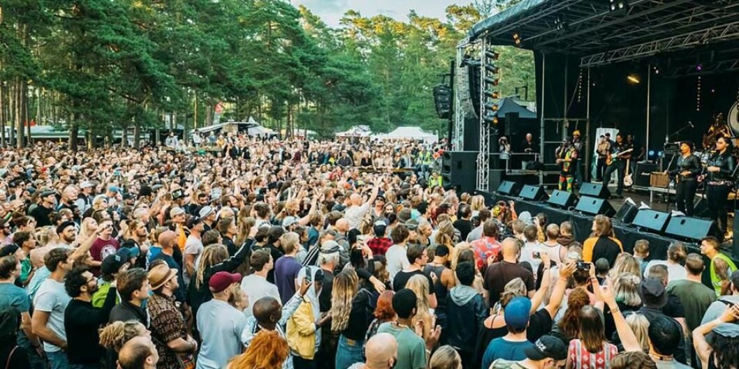 Stor publik på Öland Roots