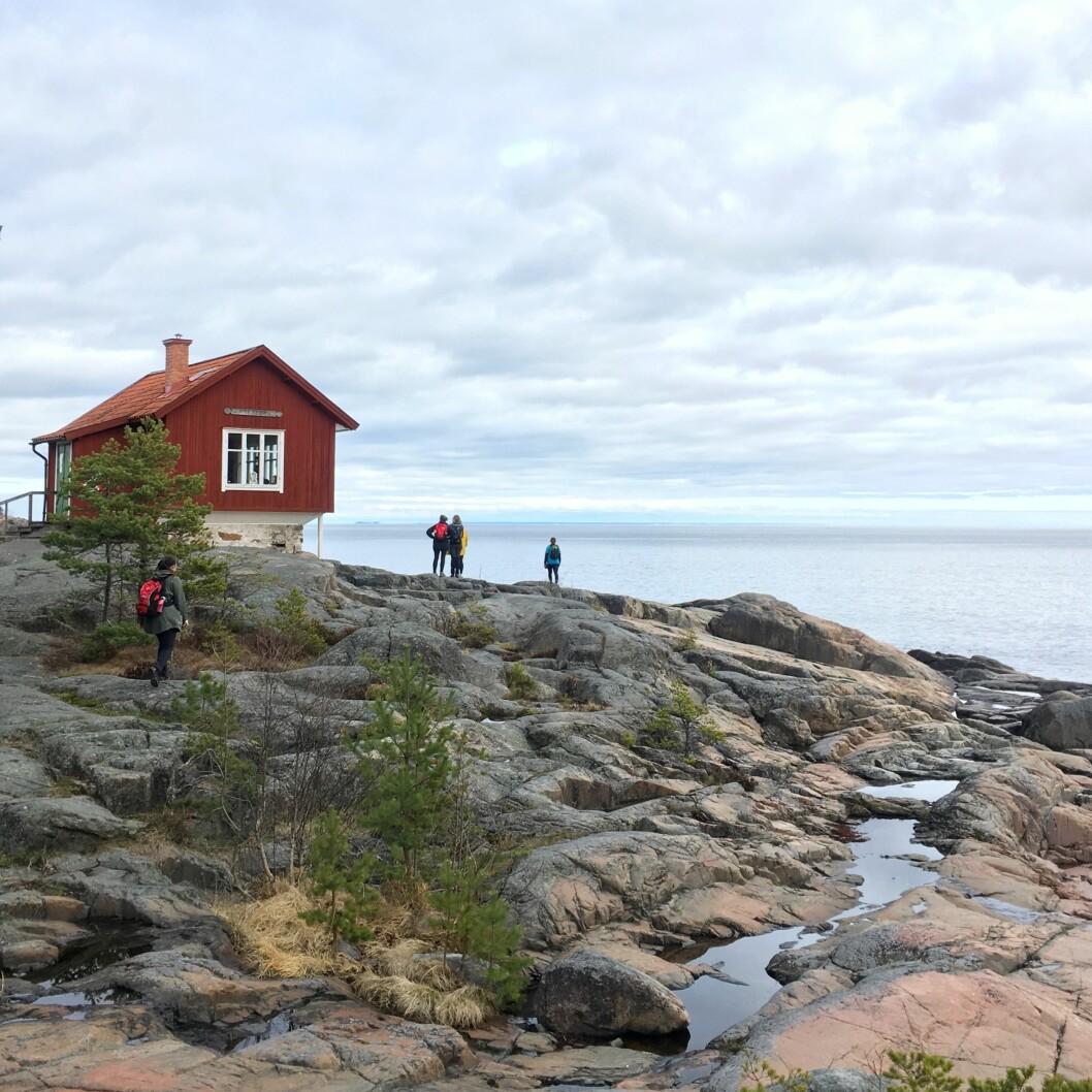 Roslagsleden med utsikt över Ålans hav