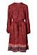 Röd klänning från Indiska