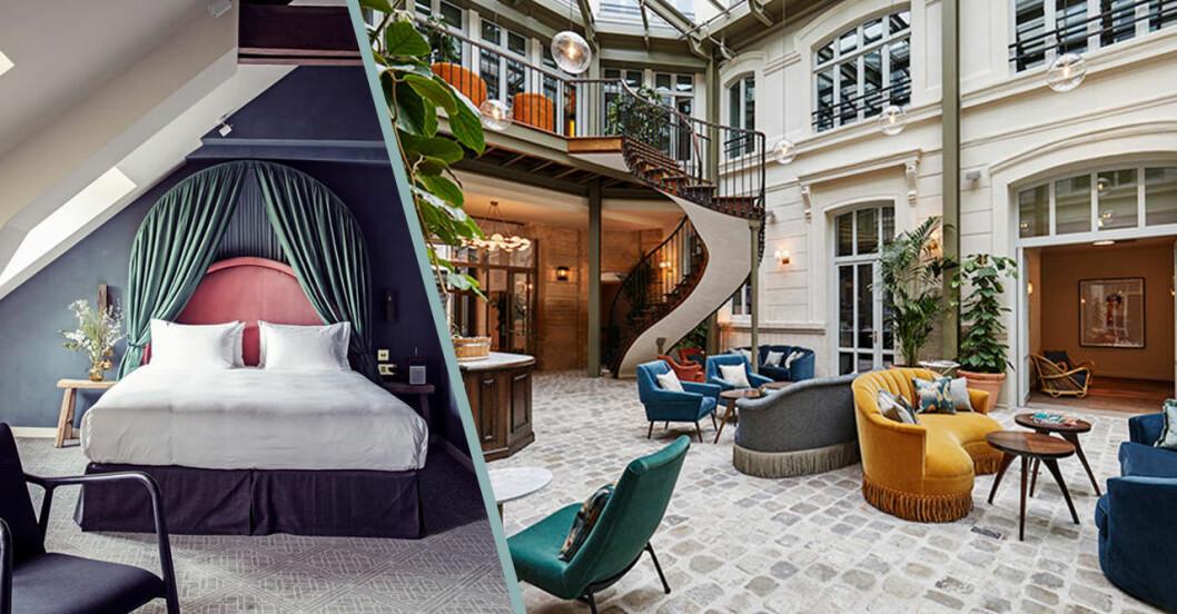 Fina hotell i Paris