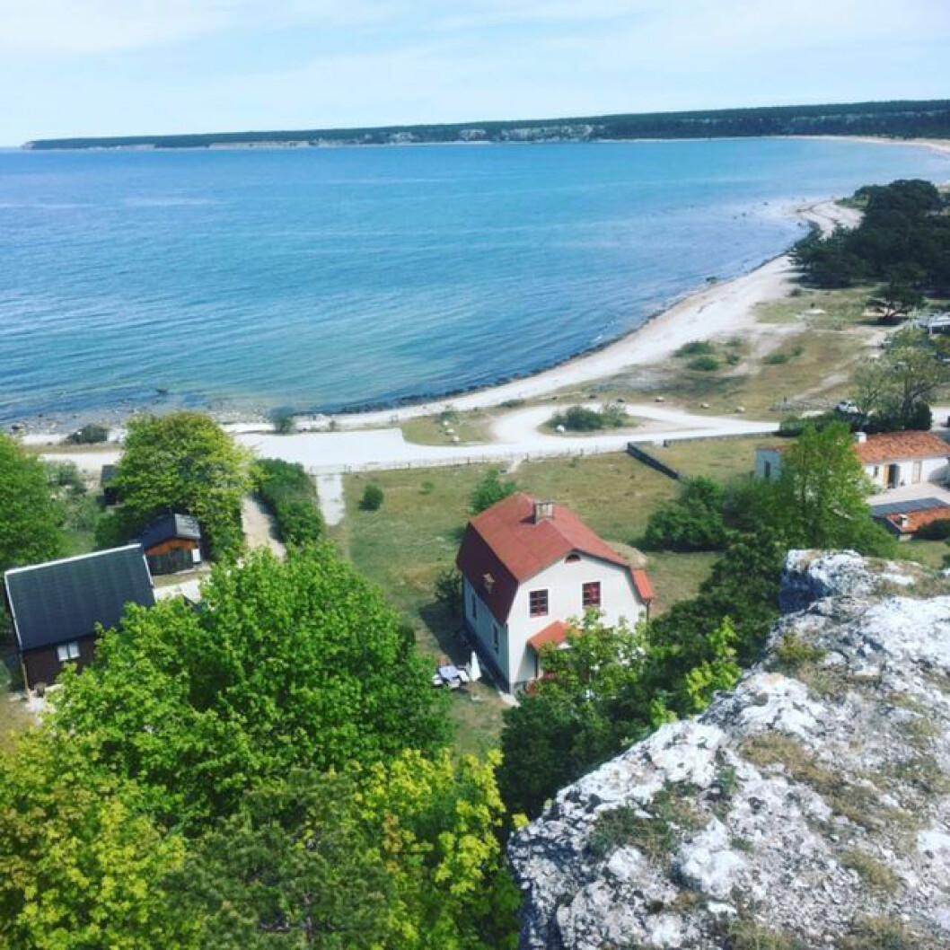 Ihreviken på Gotland.