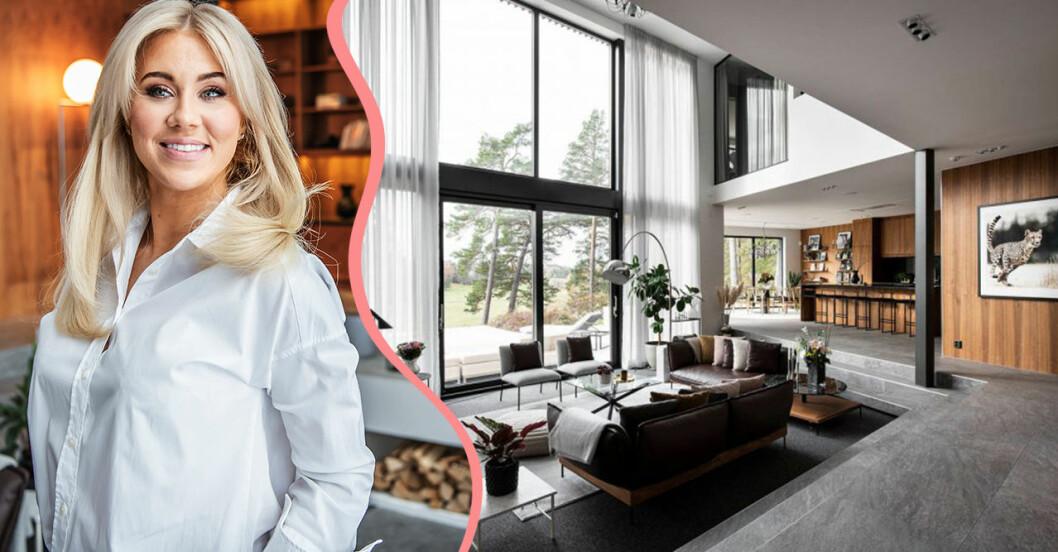 Isabella Löwengrip säljer sin lyxvilla
