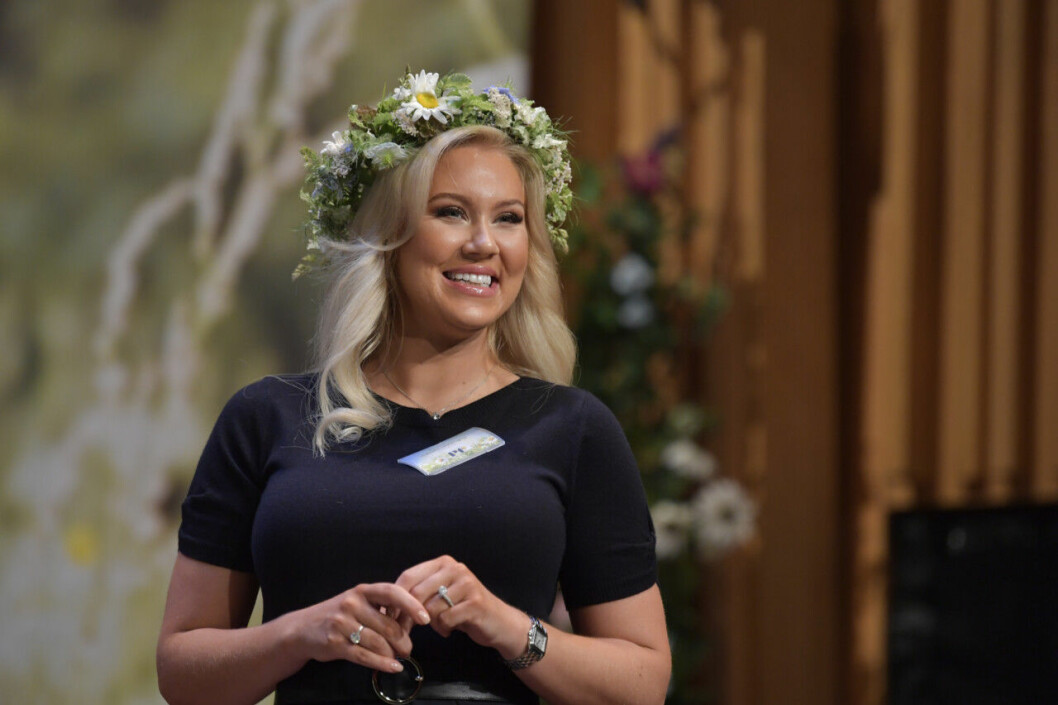 Isabella Löwengrip sommarpratar den 24 juni 2019.