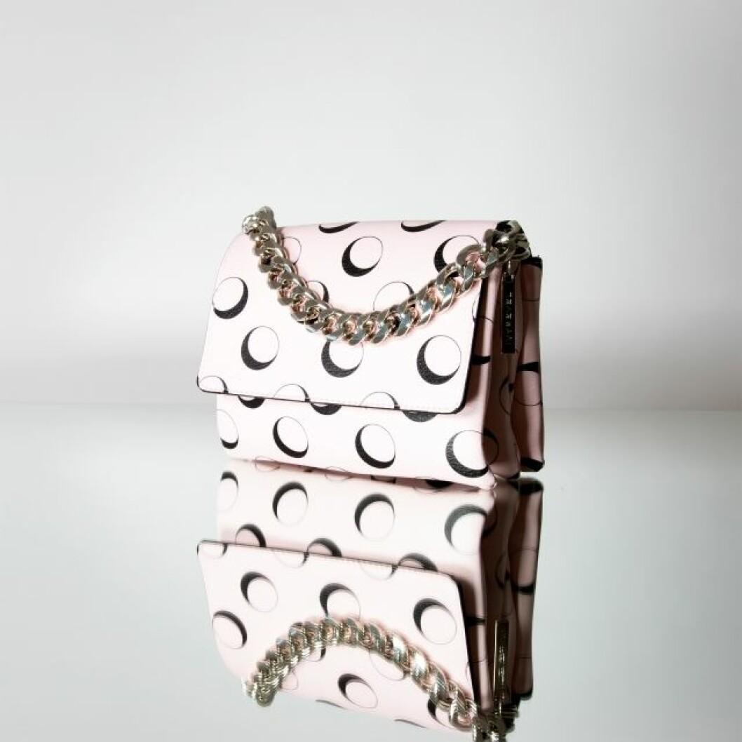 Rosa handväska ivyrevel