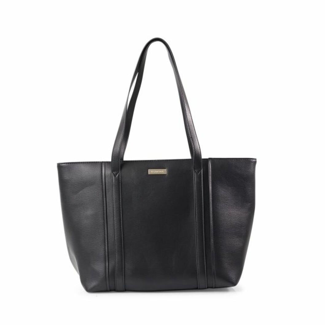 Svart shoppingbag