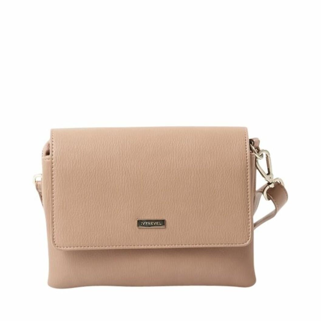 Beige handväska kenza