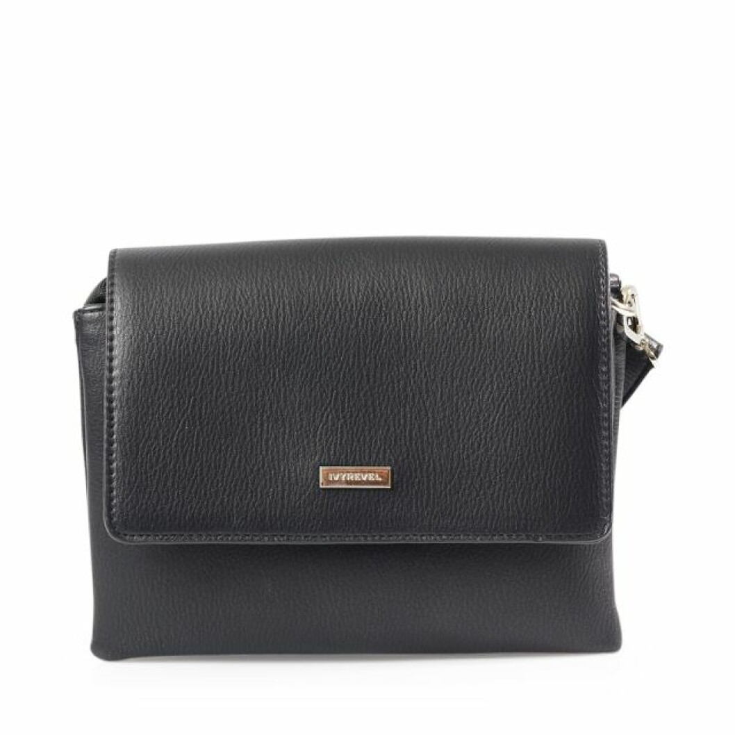 Svart liten handväska Kenza