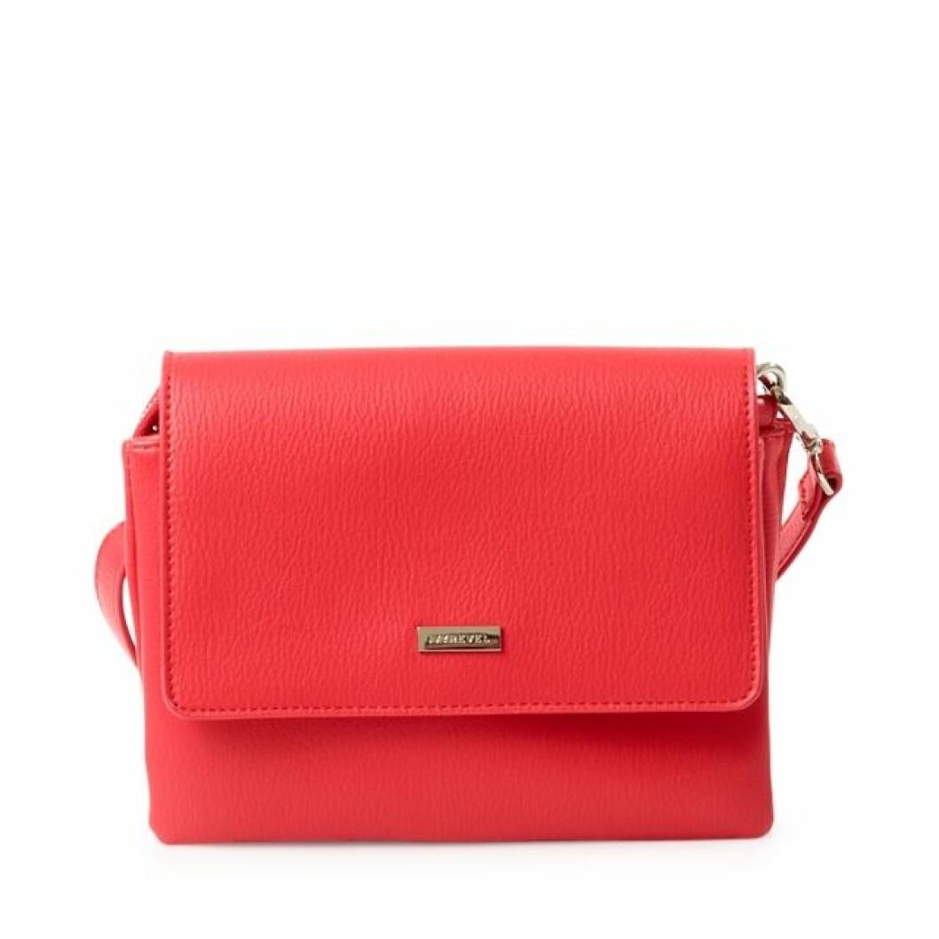 Röd liten handväska Kenza Zouiten