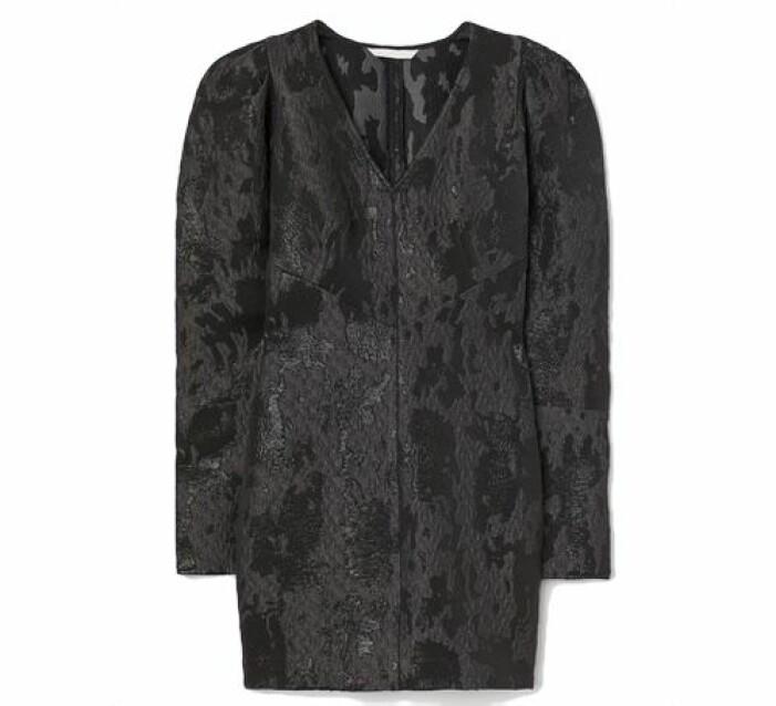 Jacquardklänning från H&M
