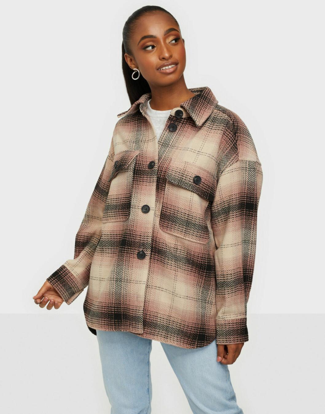 Rutig skjortjacka från Jacqueline de Yong