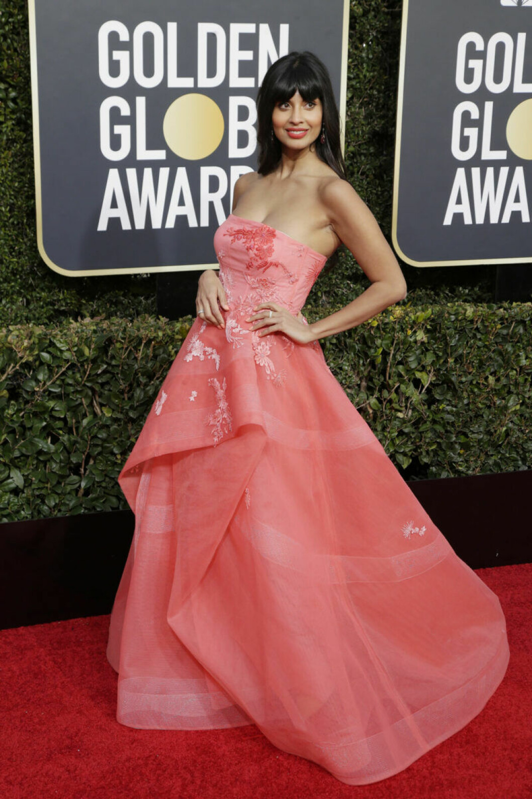 Jameela Jamil Golden Globe 2019