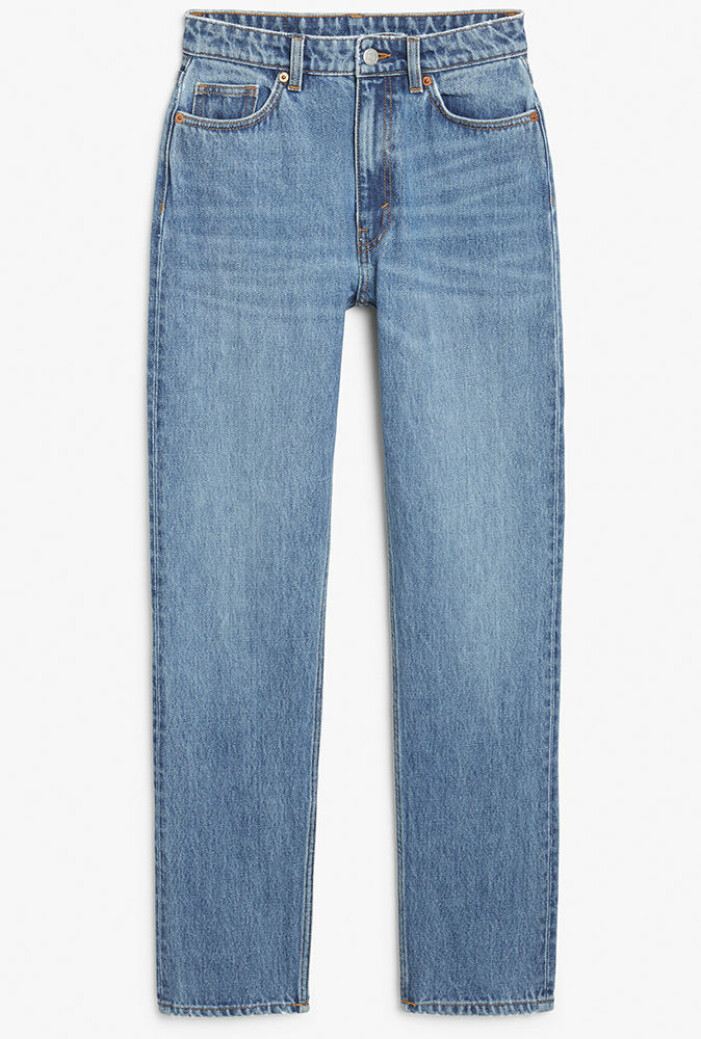 blå jeans från monki