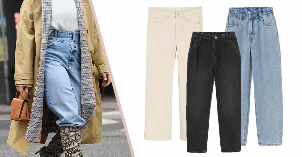 jeans för rumpa och kurvor