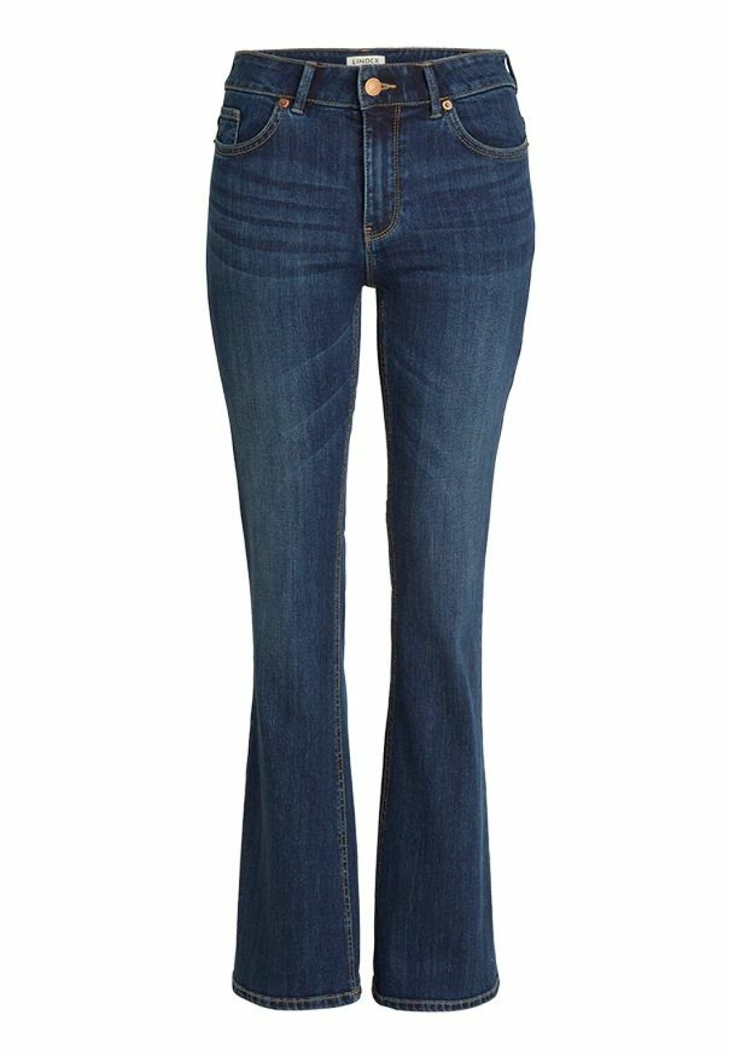 Jeans i boot cut-modell