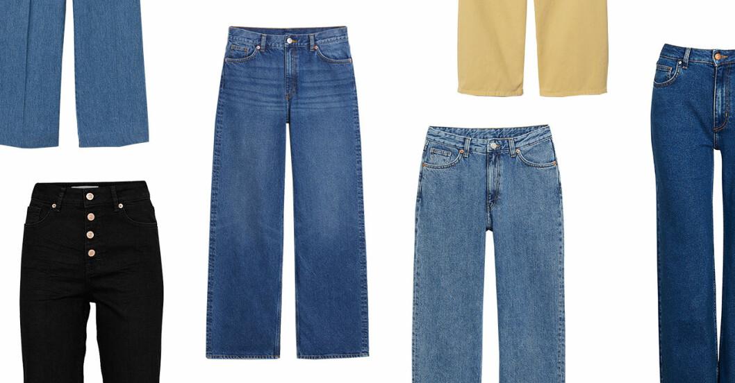 Jeans för dam till våren 2019