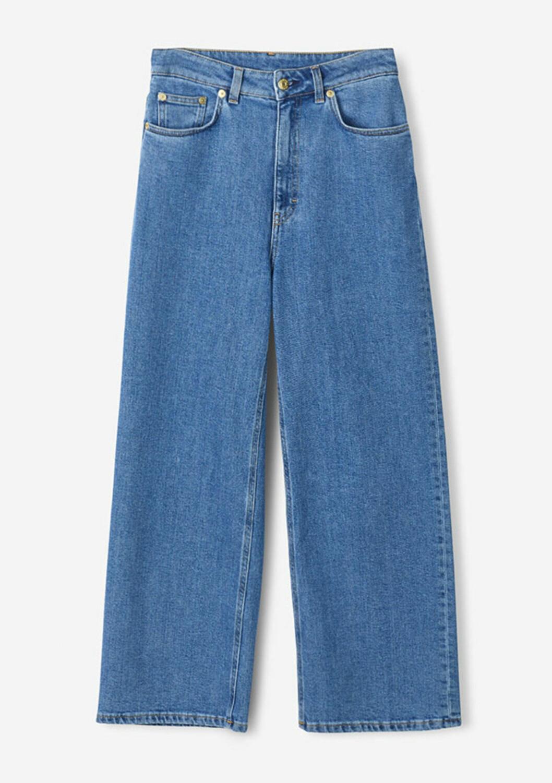 Jeans med vida ben till våren 2019
