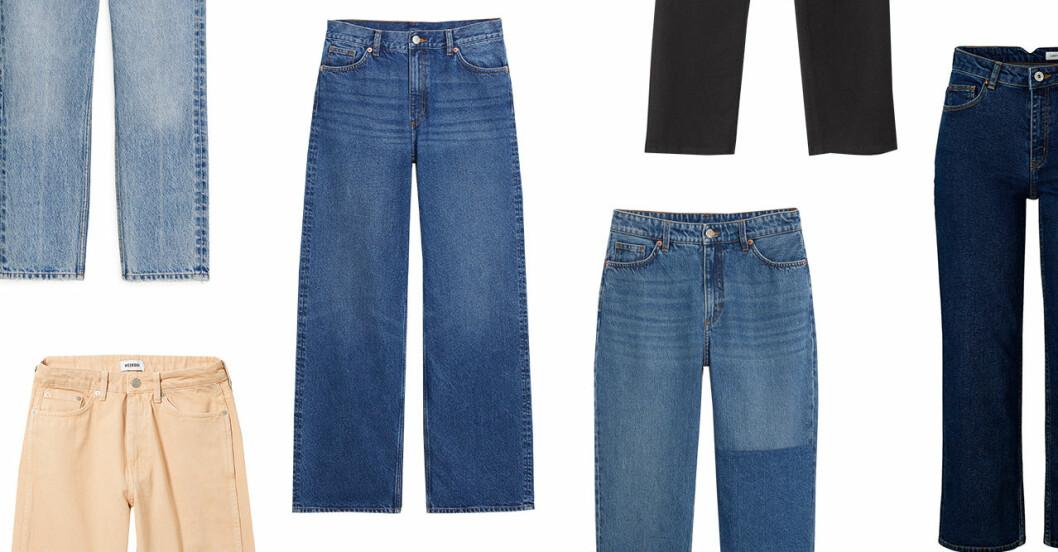 Jeans till hösten 2018