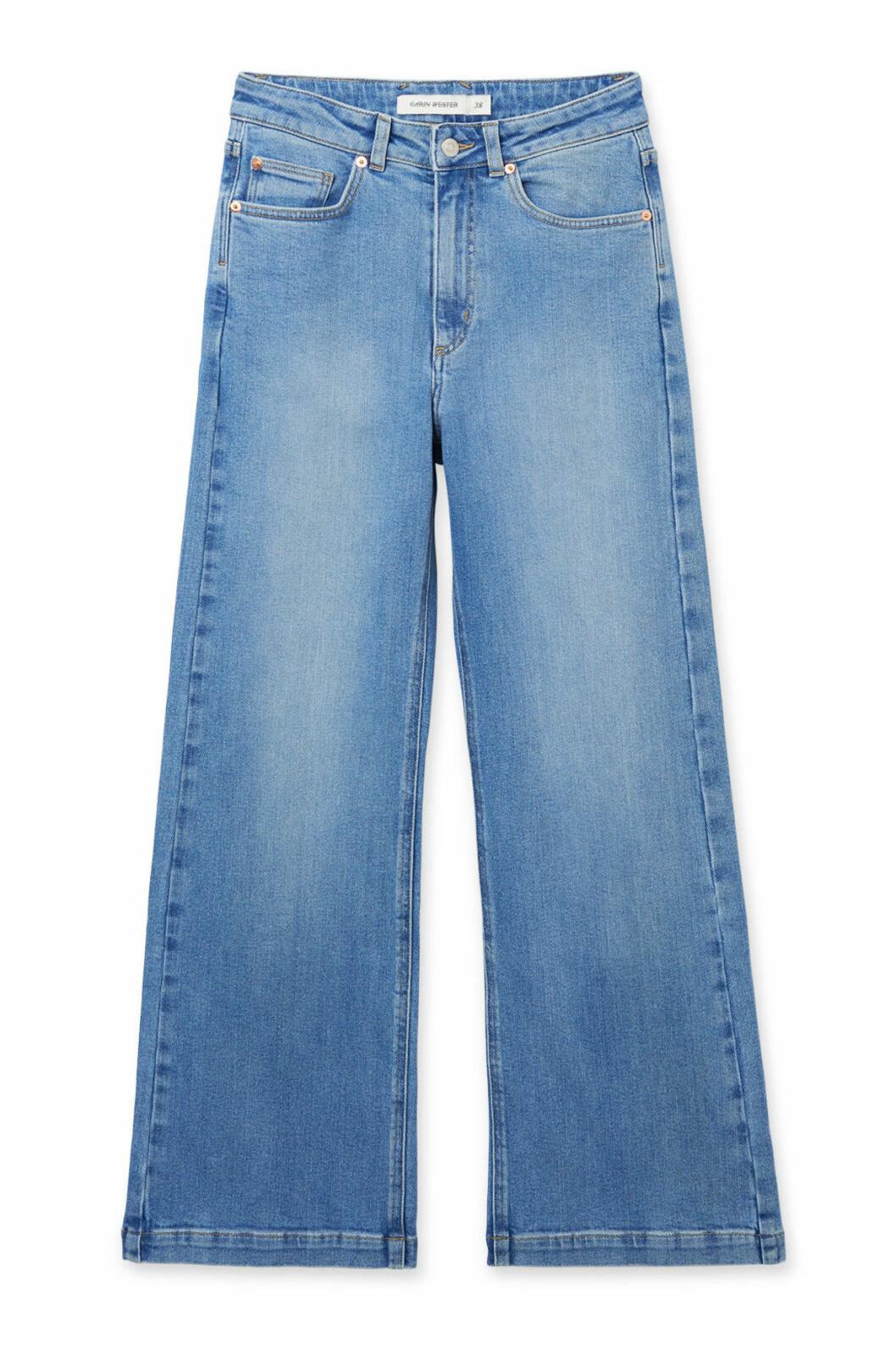 Jeans för dam med vida ben till våren 2019