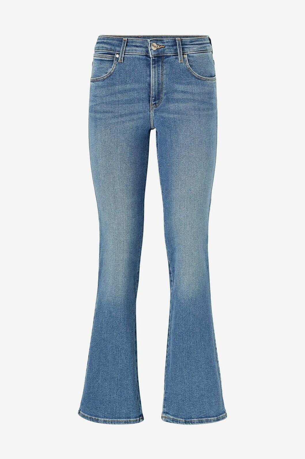 Jeans i bootcut-modell, för dam till våren 2020