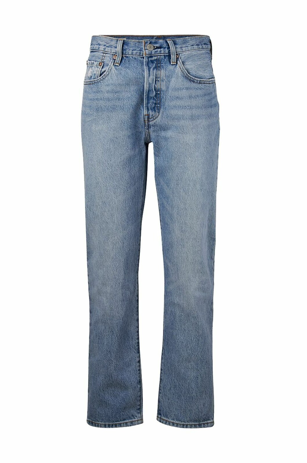 Jeans med raka ben