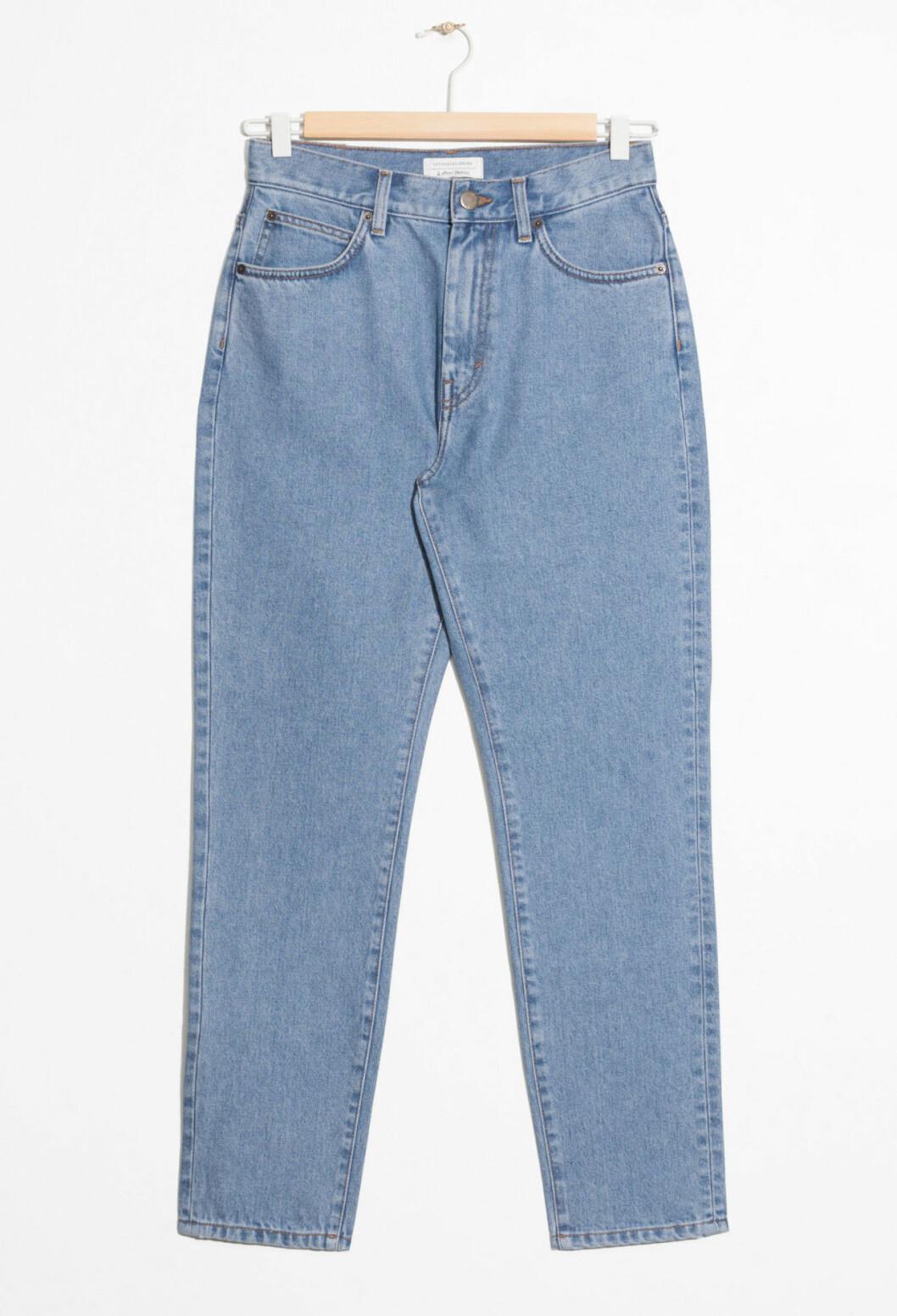 Jeans med hög midja