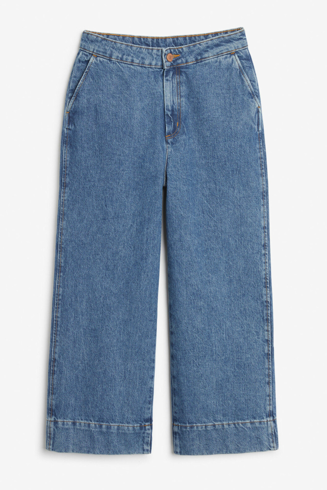 Jeans med vida ben