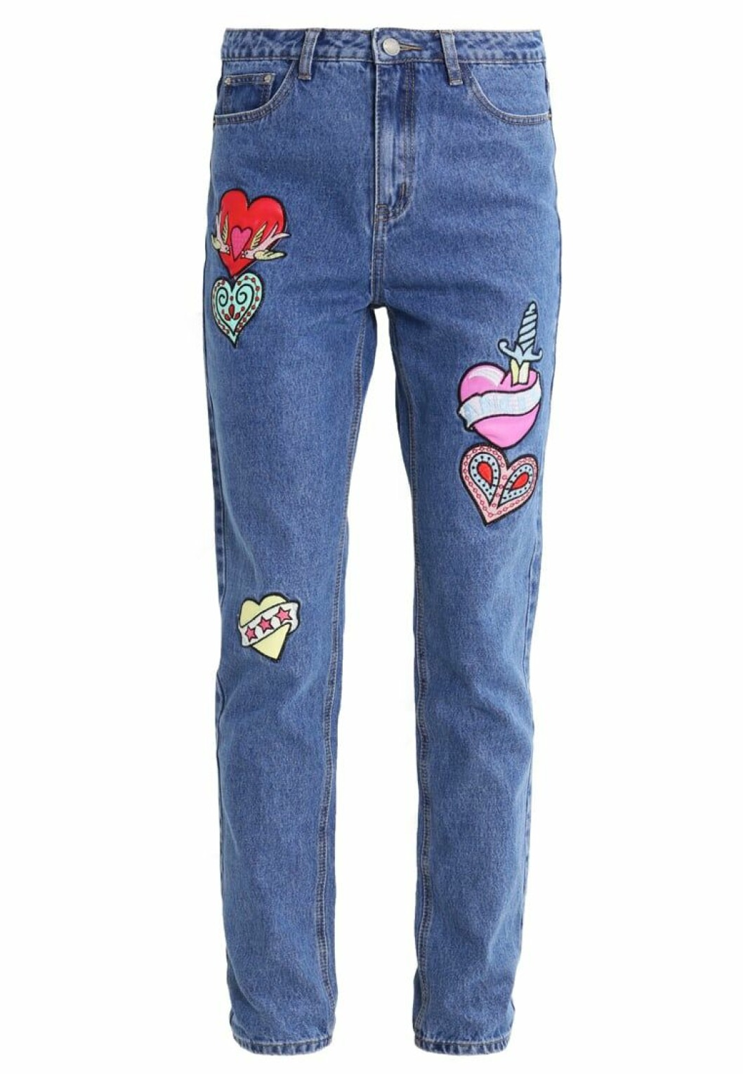 jeans patches roliga