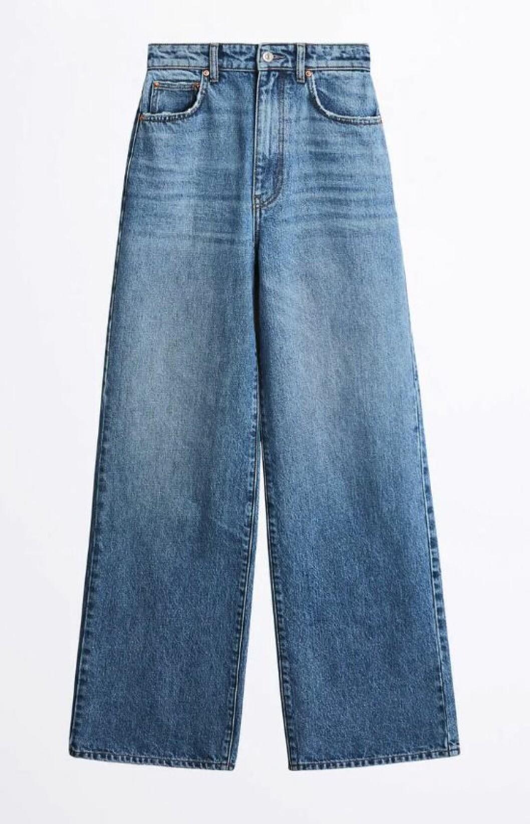 Jeans med vida ben till våren 2020
