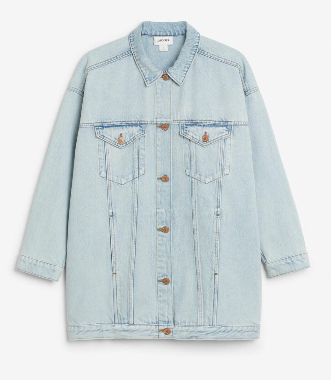 Ljus jeansjacka till våren 2019