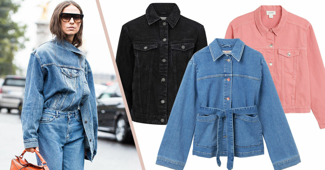 Jeansjacka för dam till våren 2019 – blå, svart, färgglad