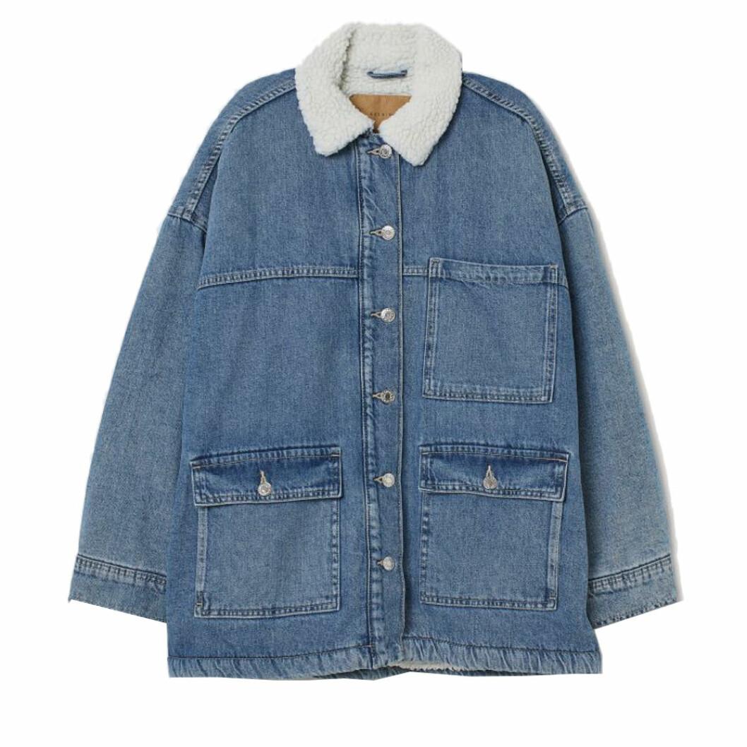Jeansjacka med pile från H&M