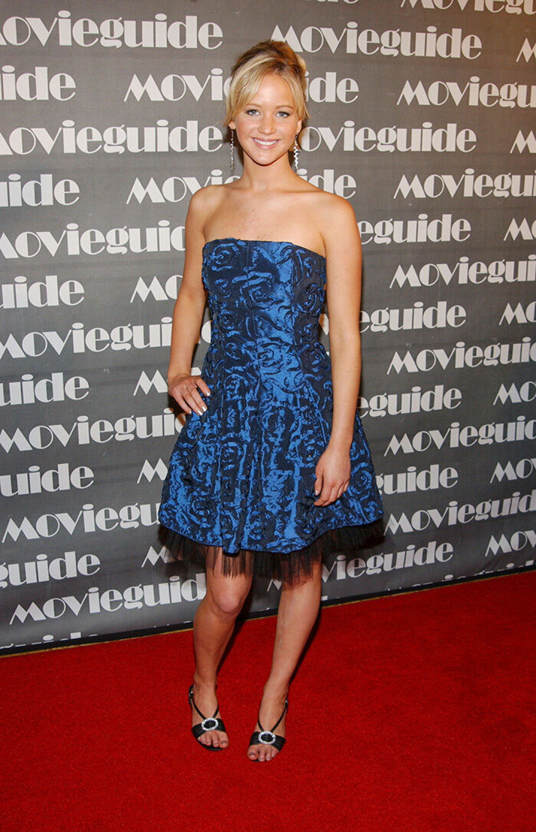 En bild på skådespelerskan Jennifer Lawrence 2007