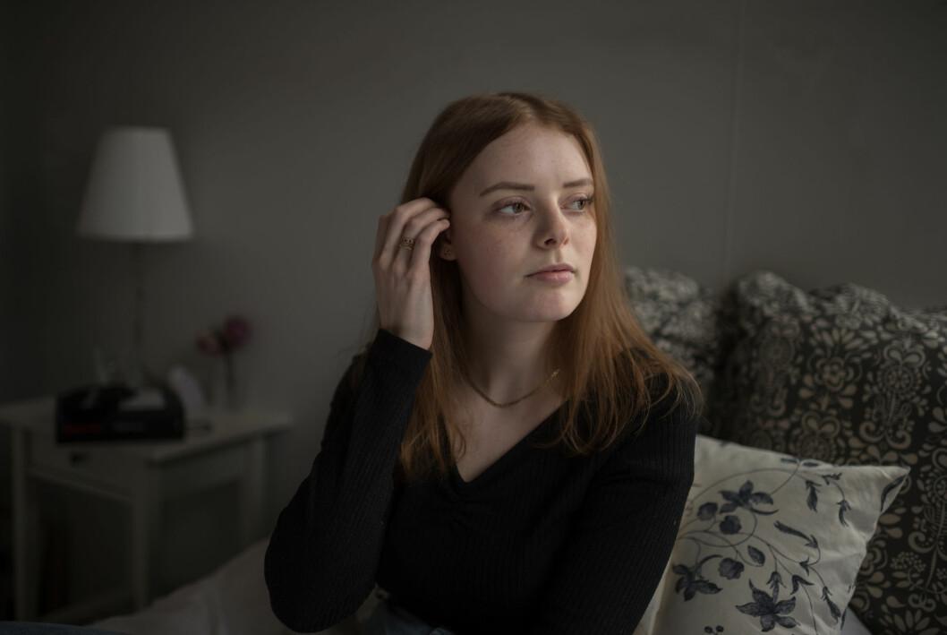 Jennifer Lännerholm fick en traumatisk upplevelse i vården när hon sökte för vestibulit.