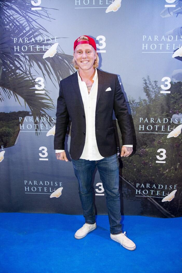 Jeppe Johansson Paradise hotel 2013